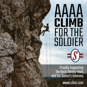 AAAA Climb for the Soldier: S3 Proudly Supports the Rock Steady Team and Our Nation's Veterans